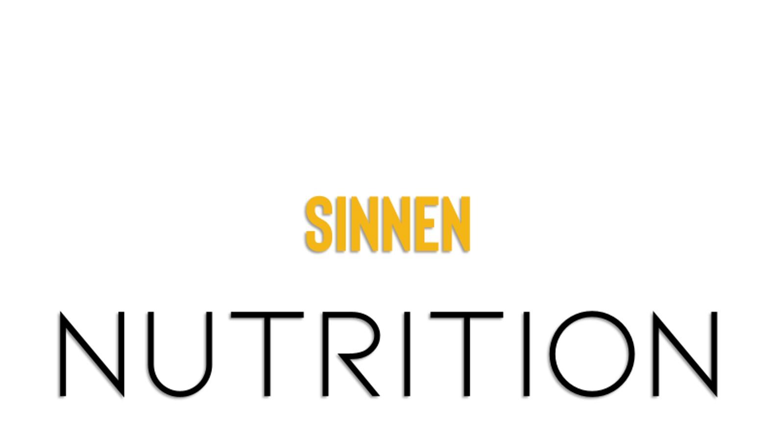 Sinnen och nutrition