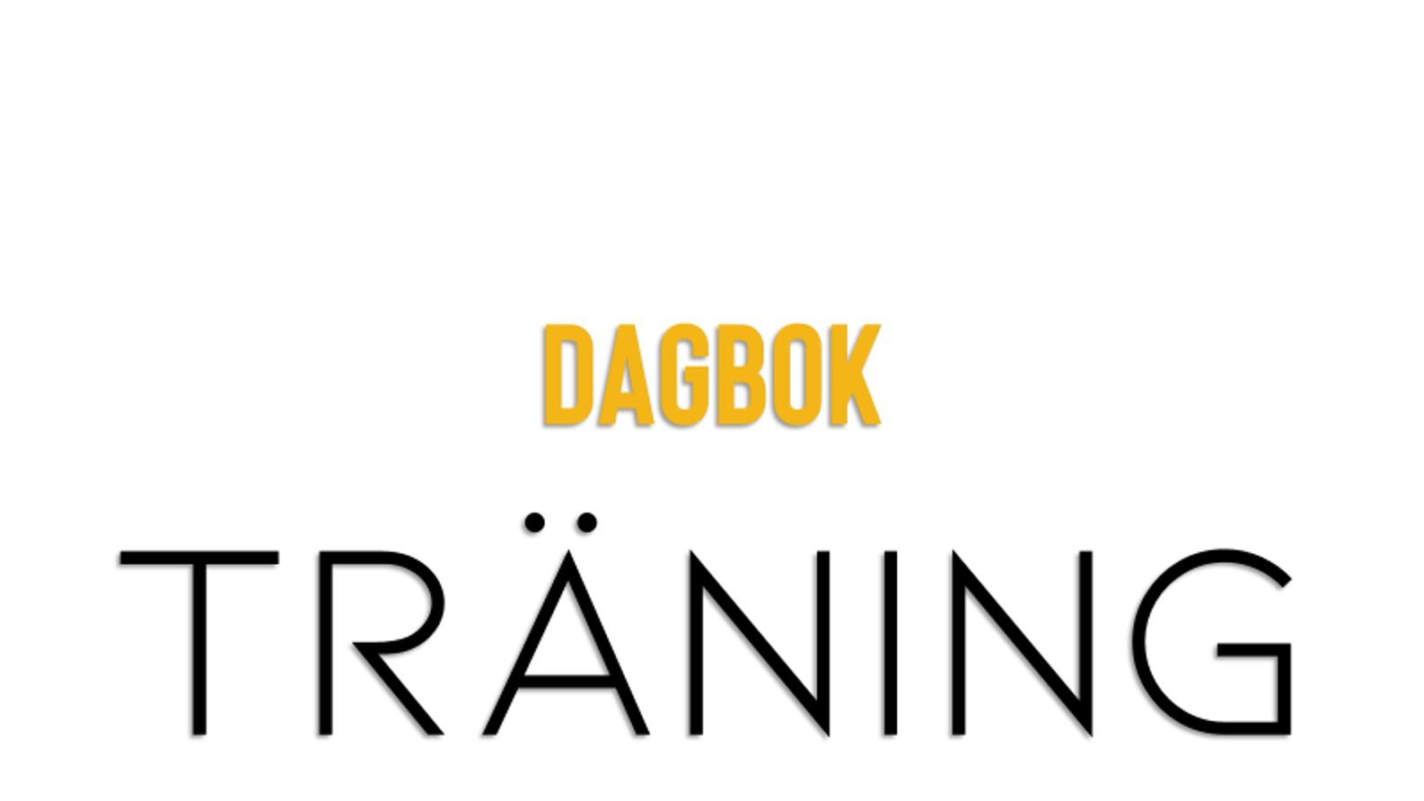 Dagbok och träning